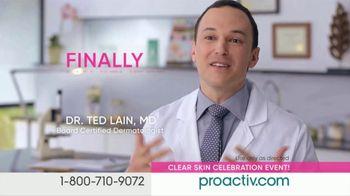 ProactivMD Clear Skin Celebration Event TV Spot, 'Five Minute Rave V3 (300s En -E4)'