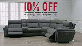 American Signature Furniture TV Spot, '10 Percent Off Storewide'