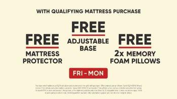 Mattress Firm Free Free Free Event TV Spot, 'Special Savings' - Thumbnail 10