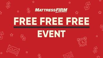 Mattress Firm Free Free Free Event TV Spot, 'Special Savings' - Thumbnail 2
