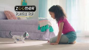 Zoomer Playful Pup TV Spot, 'He Moves & Sounds Just Like a Real Dog!' - Thumbnail 1