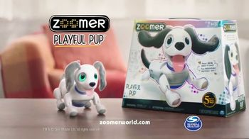 Zoomer Playful Pup TV Spot, 'He Moves & Sounds Just Like a Real Dog!' - Thumbnail 8