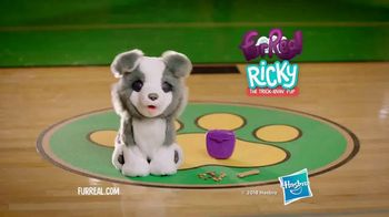FurReal Ricky the Trick-Lovin' Pup TV Spot, 'Catch His Bone' - Thumbnail 10