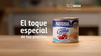 Nestle Media Crema TV Spot, 'El toque especial' [Spanish] - Thumbnail 8