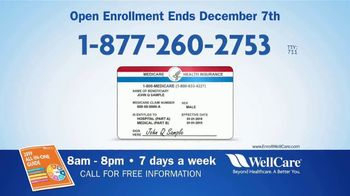 WellCare Medicare Advantage Plan TV Spot, 'Open Enrollment' - Thumbnail 4