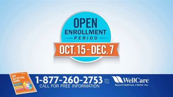 WellCare Medicare Advantage Plan TV Spot, 'Open Enrollment' - Thumbnail 7