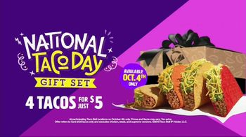Taco Bell National Taco Day Gift Set TV Spot, 'Tacos Are Perfect' - Thumbnail 10