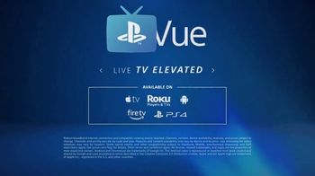 PlayStation Vue TV Spot, 'Live TV Elevated' Song by Oh The Larceny - Thumbnail 10