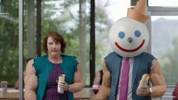 Jack in the Box Steak & Egg Breakfast Burrito TV Spot, 'Beefin' Up' - 149 commercial airings