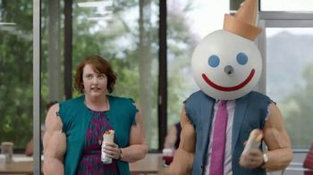 Jack in the Box Steak & Egg Breakfast Burrito TV Spot, 'Beefin' Up' - 149 commercial airings