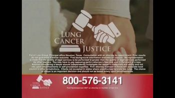 James C. Ferrell TV Spot, 'Lung Cancer Justice' - Thumbnail 8