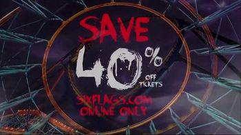 Six Flags Fright Fest Opening Sale TV Spot, 'Fright Fest: Save 40' - Thumbnail 8