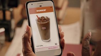 Dunkin' Donuts $2 Iced Coffee TV Spot, 'Library' - Thumbnail 6