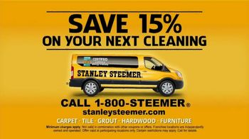Stanley Steemer TV Spot, 'Clean and Healthy: 15 Percent' - Thumbnail 9