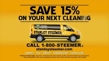 Stanley Steemer TV Spot, 'Clean and Healthy: 15 Percent' - Thumbnail 8