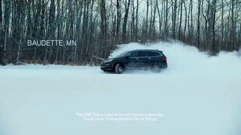 2019 Honda Pilot TV Spot, 'Comfortable in Baudette' [T1] - 1281 commercial airings