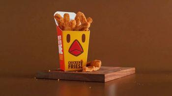 Burger King Chicken Fries TV Spot, 'Chicken Fries Beat Potato Loser'