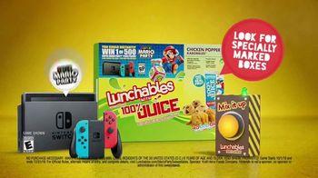 Lunchables TV Spot, 'Mixed Up Alerts: Super Mario Party' - Thumbnail 10