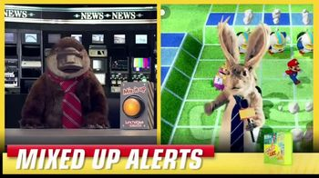 Lunchables TV Spot, 'Mixed Up Alerts: Super Mario Party' - Thumbnail 6
