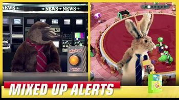Lunchables TV Spot, 'Mixed Up Alerts: Super Mario Party'