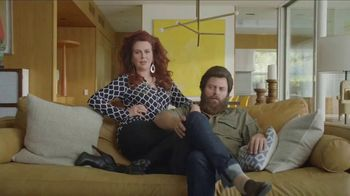 Sling TV Spot, 'Slingers Love Action' Featuring Nick Offerman, Megan Mullally - Thumbnail 1
