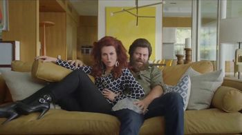 Sling TV Spot, 'Slingers Love Action' Featuring Nick Offerman, Megan Mullally