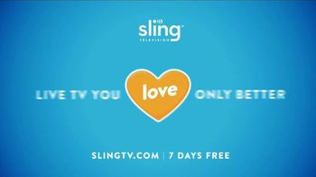 Sling TV Spot, 'Slingers Love Action' Featuring Nick Offerman, Megan Mullally - Thumbnail 7