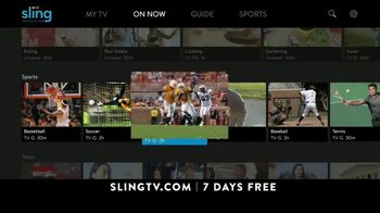 Sling TV Spot, 'Slingers Love Action' Featuring Nick Offerman, Megan Mullally - Thumbnail 8