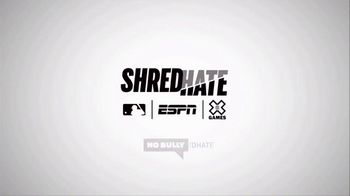 ESPN TV Spot, 'Shred Hate: Top MLB Players Speak out to end Bullying' - Thumbnail 10