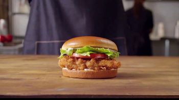 Burger King Chicken Sandwich TV Spot, 'Crossing Encouraged' - Thumbnail 2