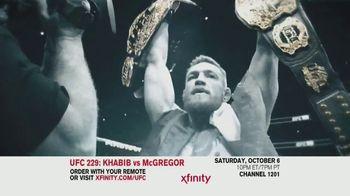 XFINITY TV Spot, 'UFC 229: Khabib vs. McGregor' - 96 commercial airings