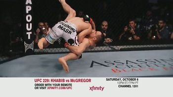 XFINITY TV Spot, 'UFC 229: Khabib vs. McGregor' - Thumbnail 4