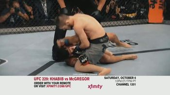 XFINITY TV Spot, 'UFC 229: Khabib vs. McGregor' - Thumbnail 5