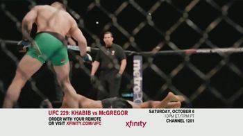XFINITY TV Spot, 'UFC 229: Khabib vs. McGregor' - Thumbnail 7