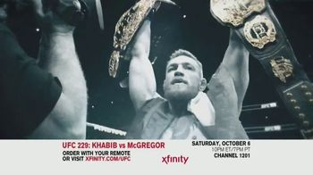 XFINITY TV Spot, 'UFC 229: Khabib vs. McGregor' - 96 commercial airings