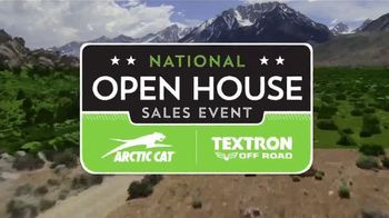 Arctic Cat and Textron Off Road National Open House Sales Event TV Spot, 'Snowmobiles' - Thumbnail 2