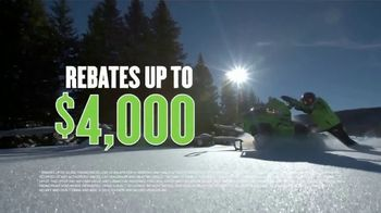 Arctic Cat and Textron Off Road National Open House Sales Event TV Spot, 'Snowmobiles' - Thumbnail 5