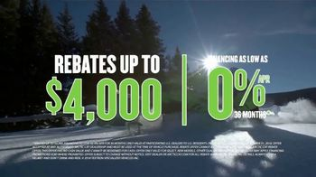 Arctic Cat and Textron Off Road National Open House Sales Event TV Spot, 'Snowmobiles' - Thumbnail 6