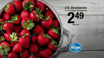 The Kroger Company TV Spot, 'Check Out While You're Chilling: Strawberries'' - Thumbnail 9