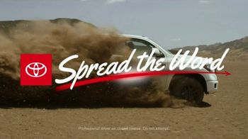 Toyota Spread the Word Sales Event TV Spot, 'You Can Trust' [T2] - Thumbnail 2
