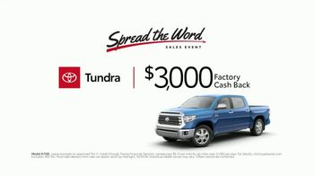 Toyota Spread the Word Sales Event TV Spot, 'You Can Trust' [T2] - Thumbnail 6