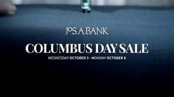 JoS. A. Bank Columbus Day Sale TV Spot, 'Up to 60 Percent' - Thumbnail 1