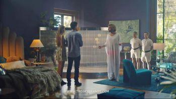 Trojan BareSkin TV Spot, 'Trojan Man: Thin Like Belgian Linen' - Thumbnail 6