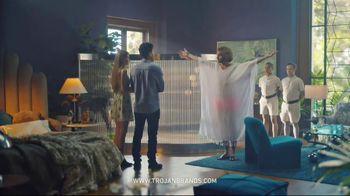 Trojan BareSkin TV Spot, 'Trojan Man: Thin Like Belgian Linen' - Thumbnail 7