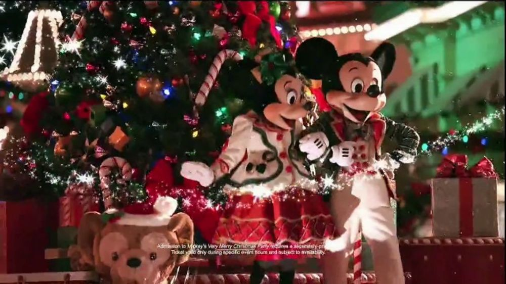walt disney world resort tv commercial experience holiday joy ispottv