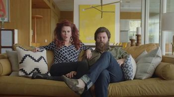 Sling TV Spot, 'The Freedom Is Exhilarating' Featuring Nick Offerman, Megan Mullally - Thumbnail 1