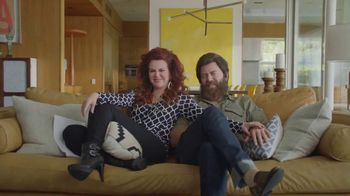 Sling TV Spot, 'The Freedom Is Exhilarating' Featuring Nick Offerman, Megan Mullally - Thumbnail 9
