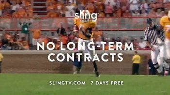 Sling TV Spot, 'The Freedom Is Exhilarating' Featuring Nick Offerman, Megan Mullally - Thumbnail 7