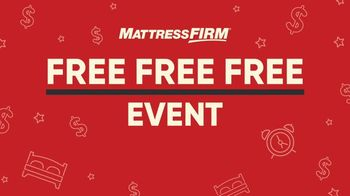 Mattress Firm Free Free Free Event TV Spot, 'Special Financing' - Thumbnail 2