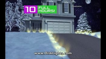 Bell + Howell Disk Lights TV Spot, 'Great for Any Season'